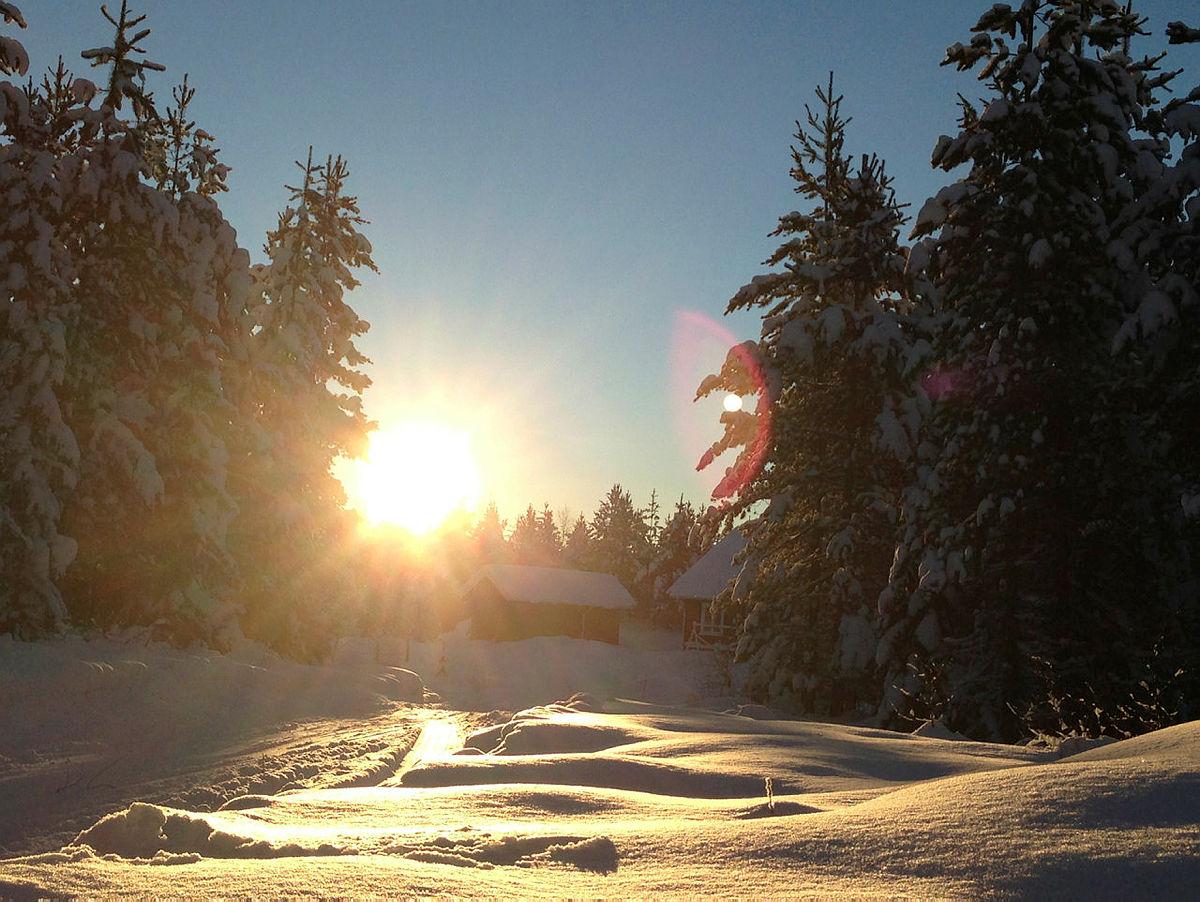 Dra på nærtur og nyt sol og vinterlig vårluft!