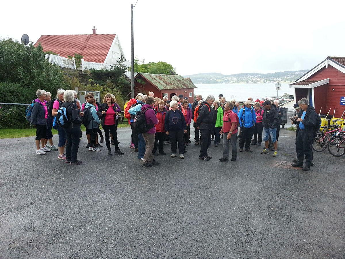 Ankomst til Sandøya