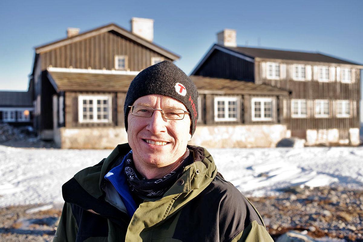Driftssjef i DNT Oslo og Omegn. Jan Erik Reiten.