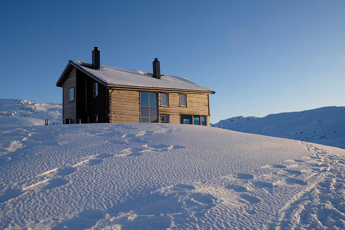 Gullhorgabu i Bergsdalen kan du nå leie og få helt alene.