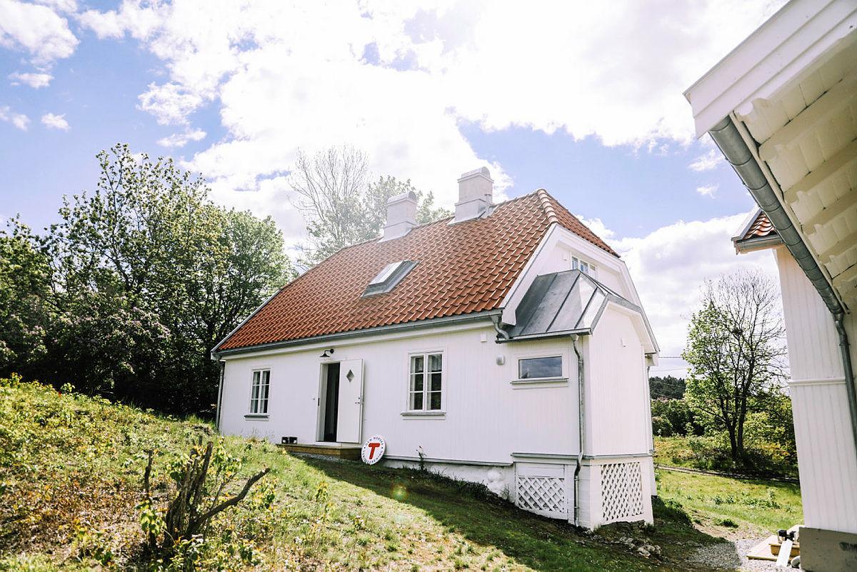 11. juni åpner den nye hytta på Gressholmen