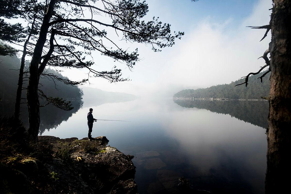 La sommerferiefølelsen innta sinn og kropp og nyt herlige dager på turisthyttene med fiske.