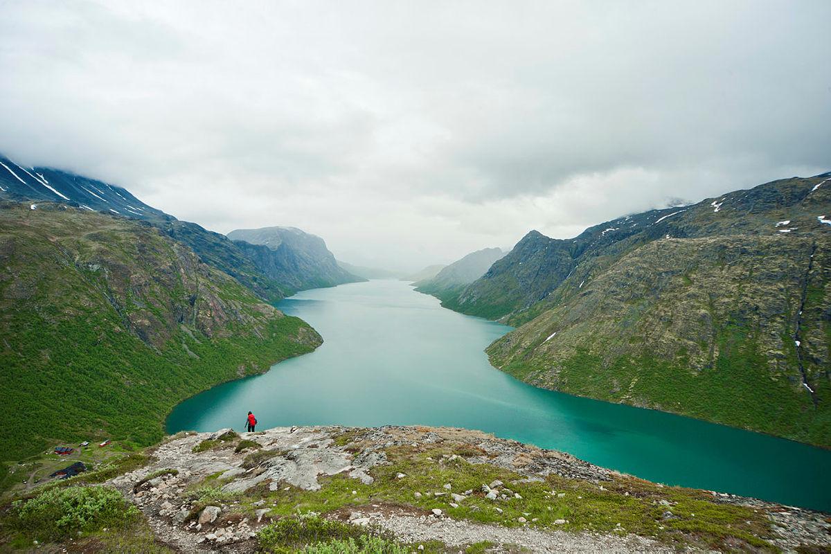 Fra turen over Bukkelægret i Jotunheimen.