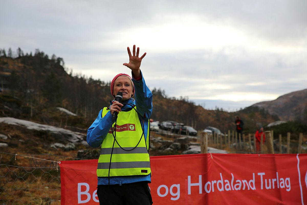 Helene Ødven med appell.