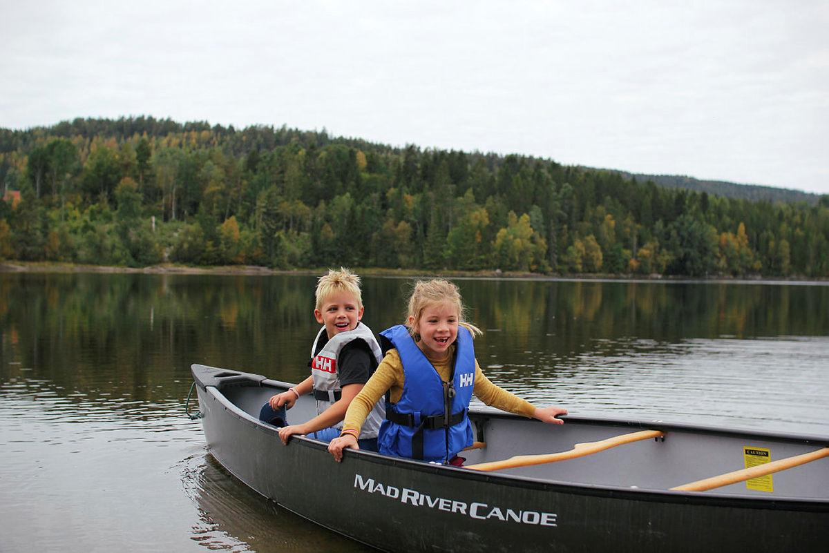 Kom deg ut-dagen i Siljan i Telemark.