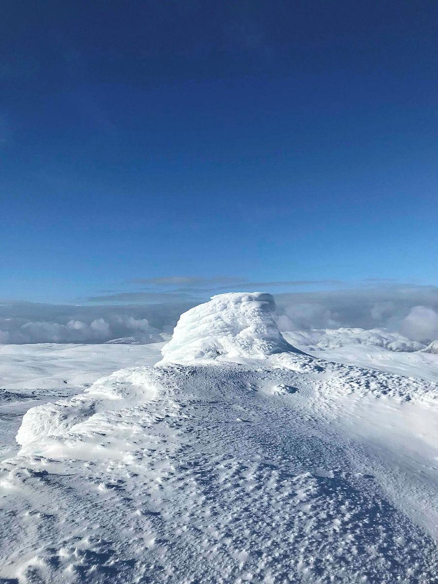 Tur til Bergsbukken. Hamlagrø Turleiarar: Audun Hellevang og Olav Sognnæs