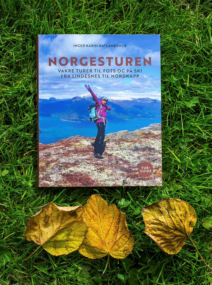 Den lokale forfatteren, Inger Karin Natlandsmyr, lanserer nå en turbok med et skattkammer av selvopplevde turer fra Lindesnes til Nordkapp.