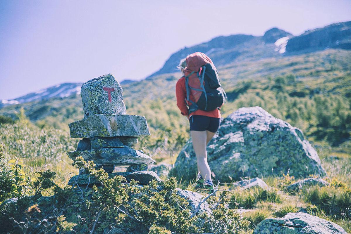 Så deilig å være på fjellet!