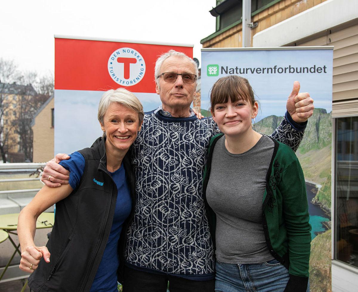 Helene Ødven, Oddvin Soldal og Silje Ask Lundberg.