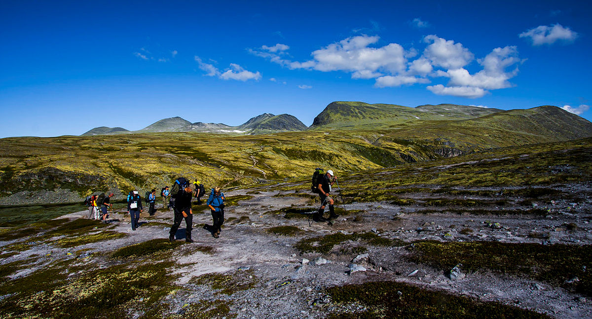 På tur i Rondane