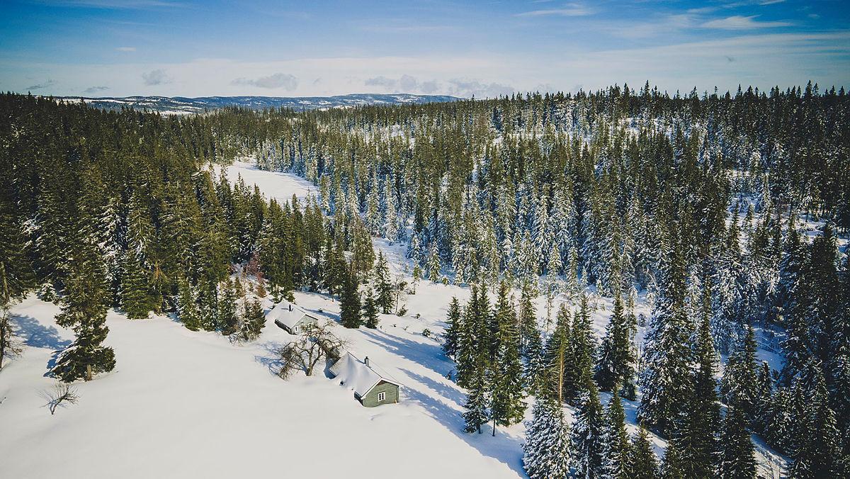 Fortsatt masse snø i marka. Her fra Snellingen og Romeriksåsene