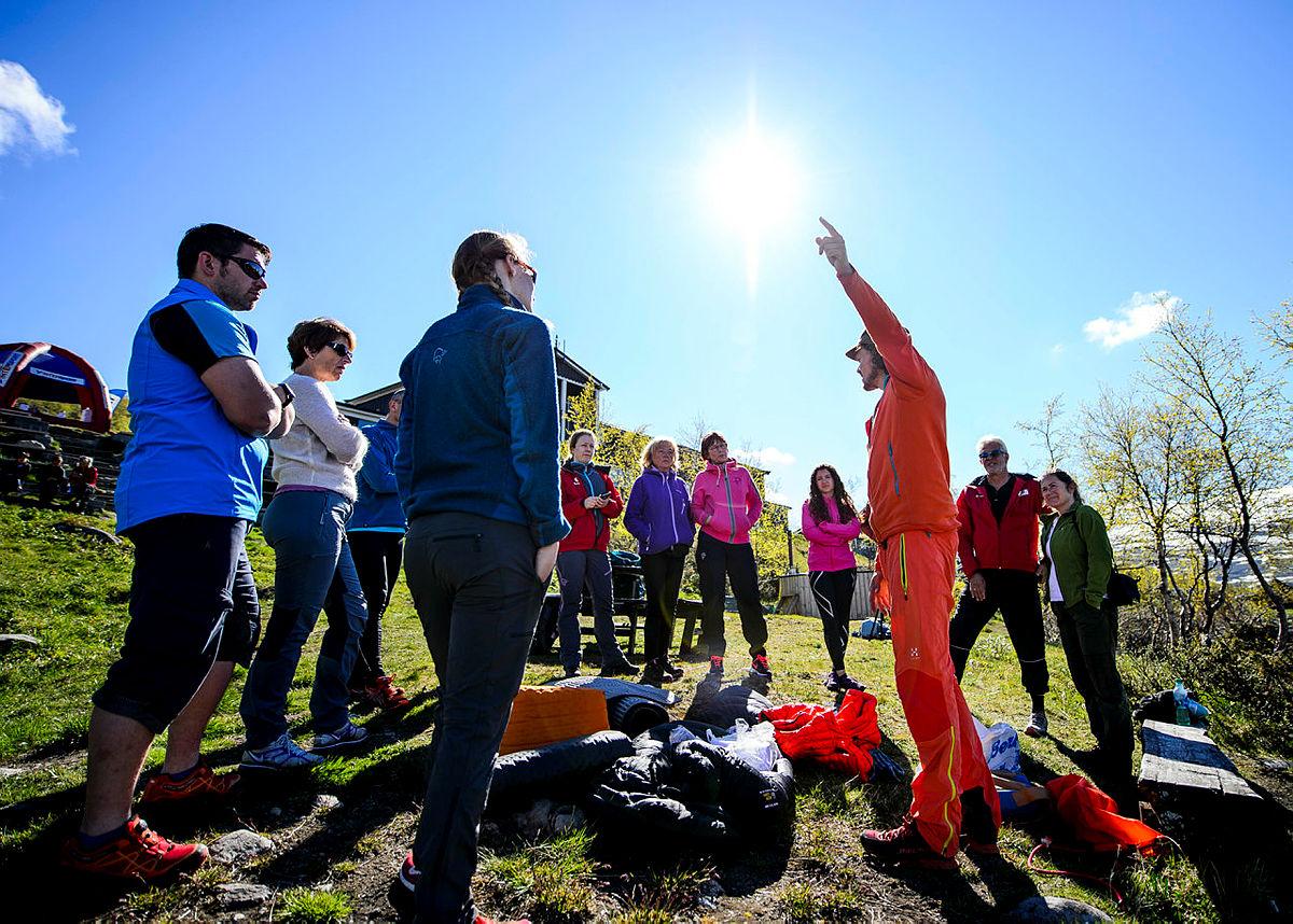 Sommeråpning i Jotunheimen 2015. Multisport, tur over Besseggen og innebilder fra Gjendesheim.