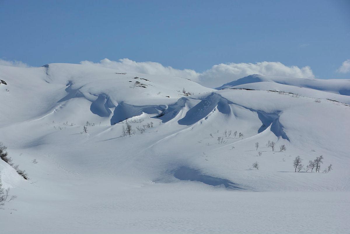 Framleis vinter i fjellet
