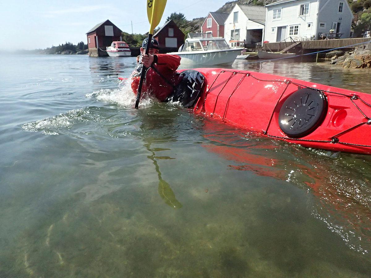 Grunnkurs havpadling mai 2018