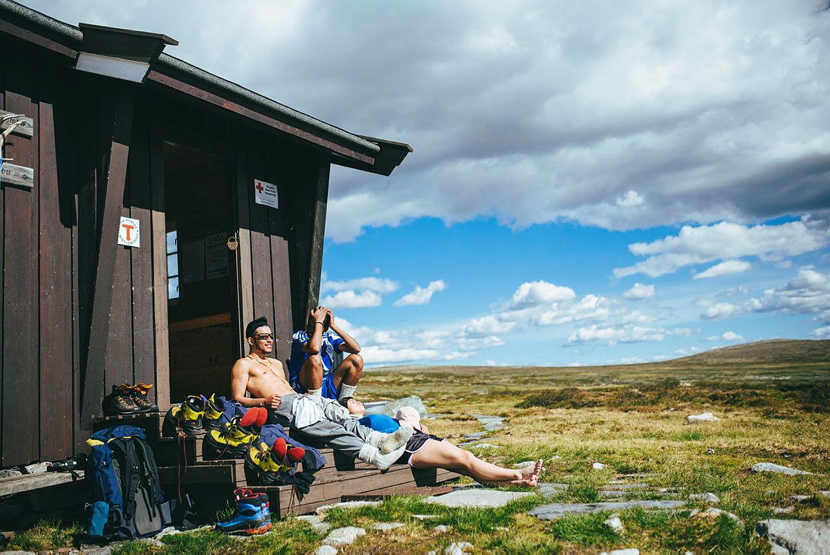 SAGA: Fem ungdommer vs. 220 kilometer