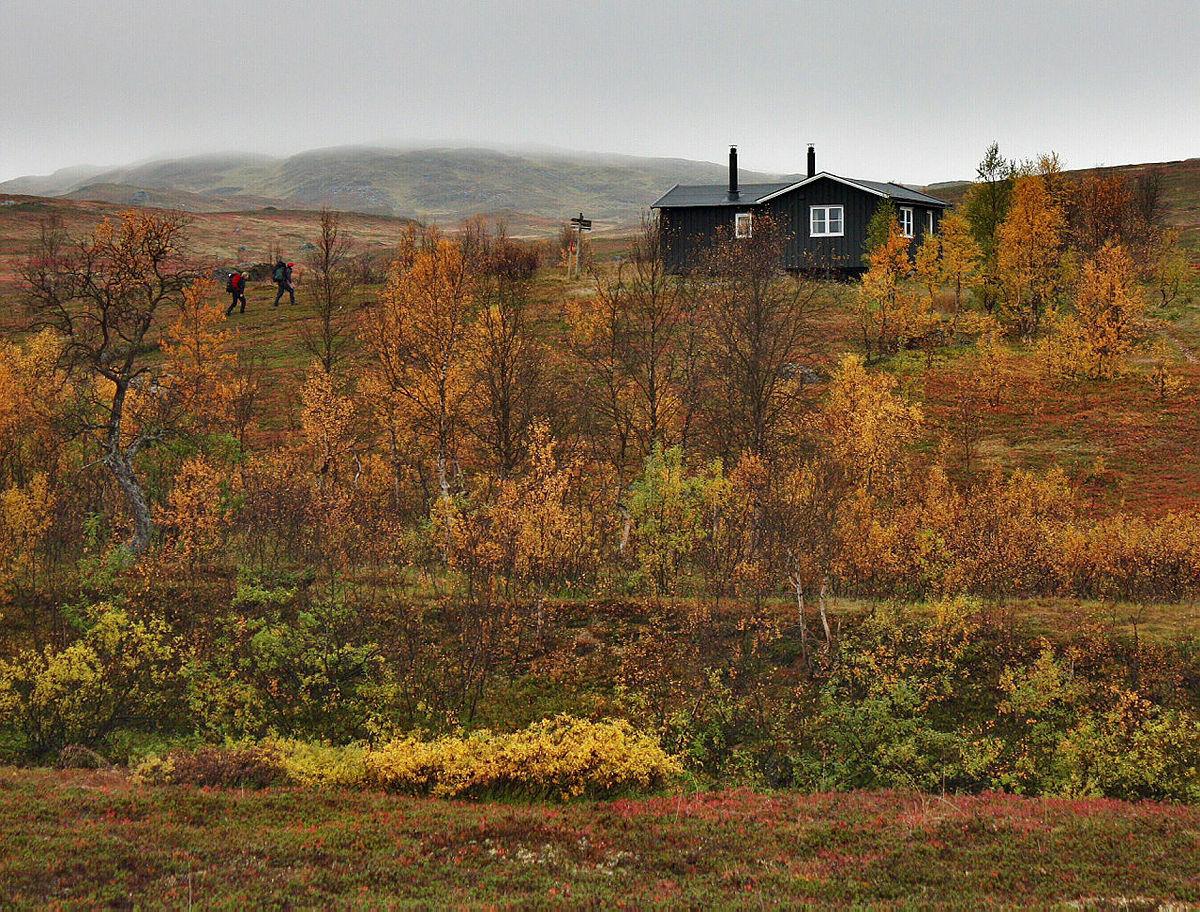 Nonsbu i Tromsdalen er en av mange hytter du kan oppleve bare en kort busstur fra Tromsø.