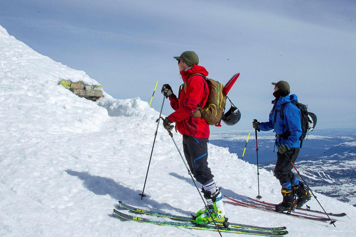 Fra en skitur til Gaustatoppen Turisthytte.