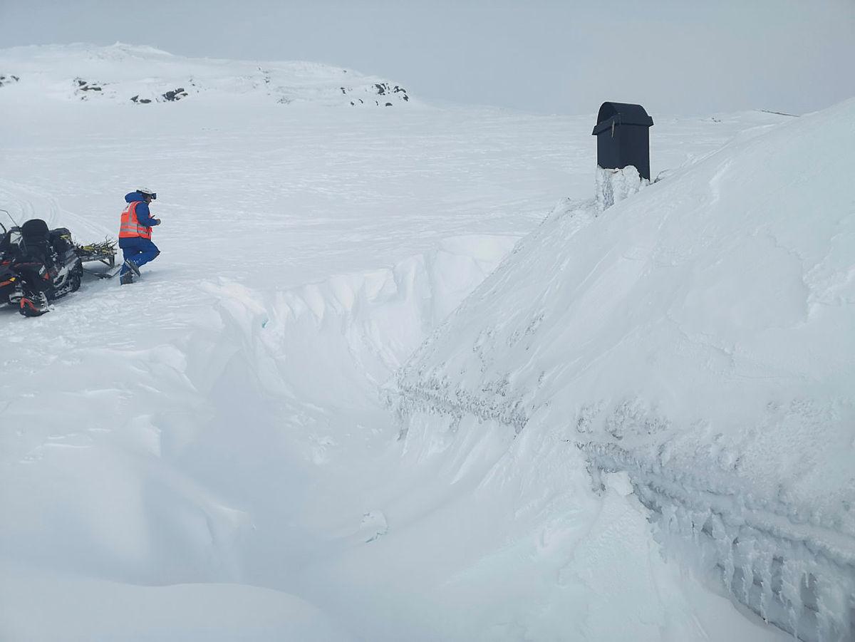 Kvisting over Gråsida, med avstikkar til Nansenbu.