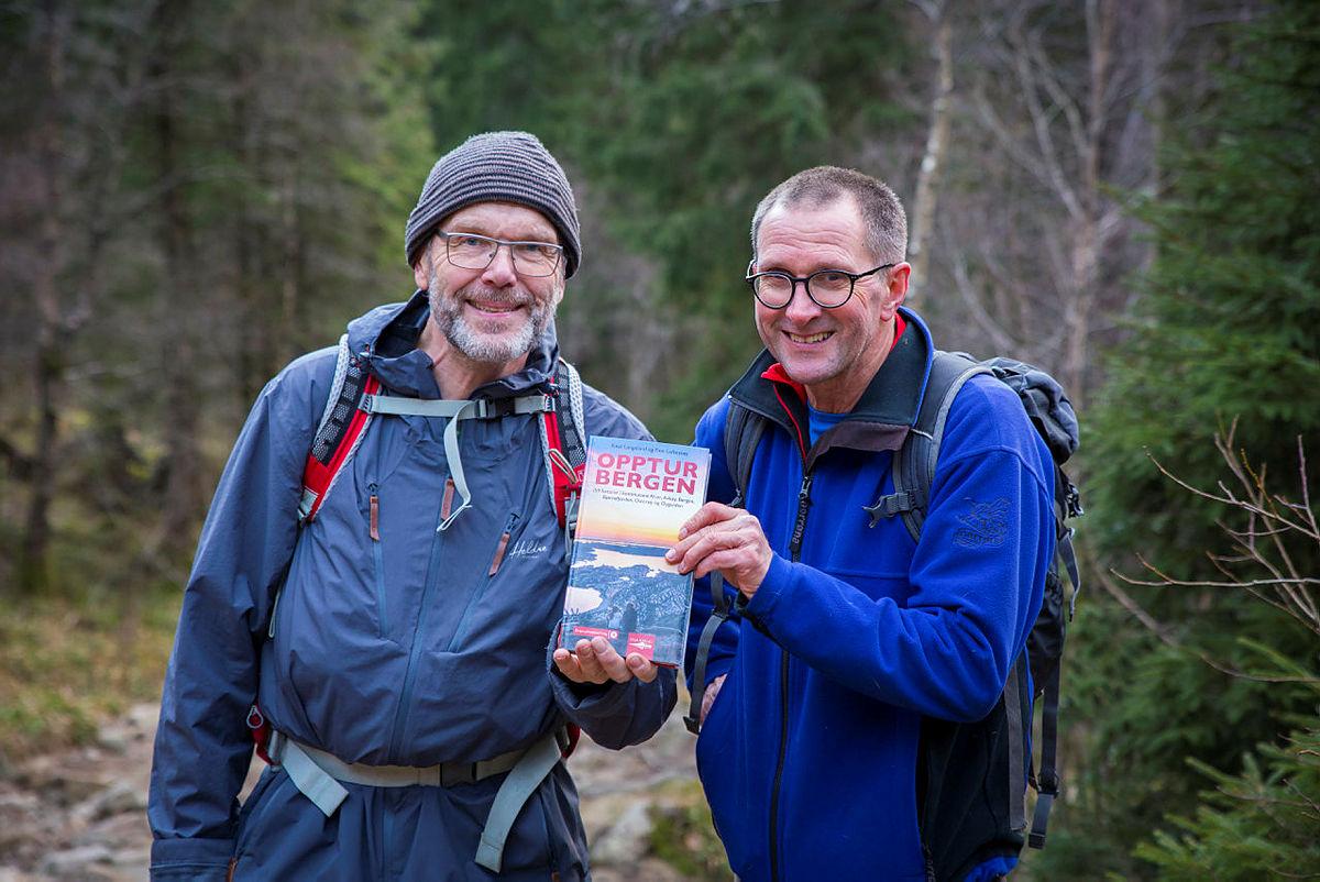 Opptur Bergen - boklansering på Fløyen