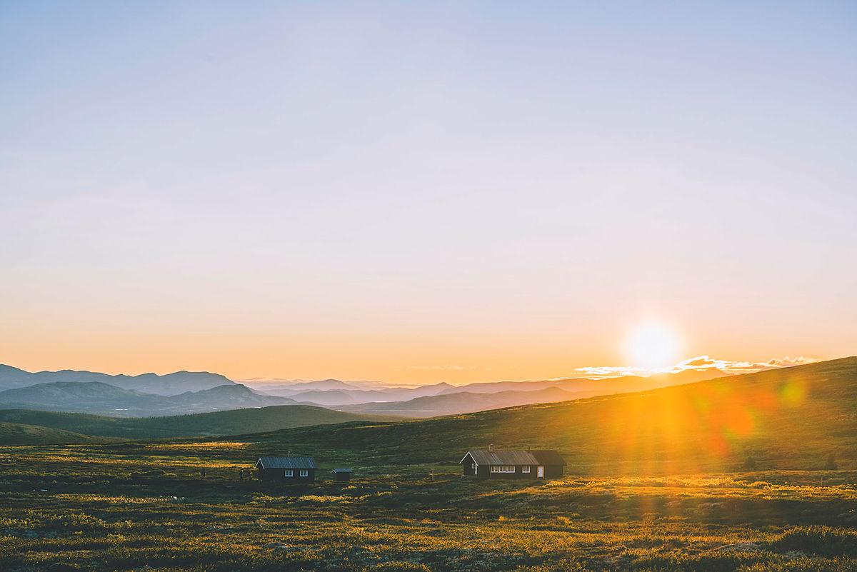 22. april åpner sommerbookingen av de selvbetjente fjellhyttene