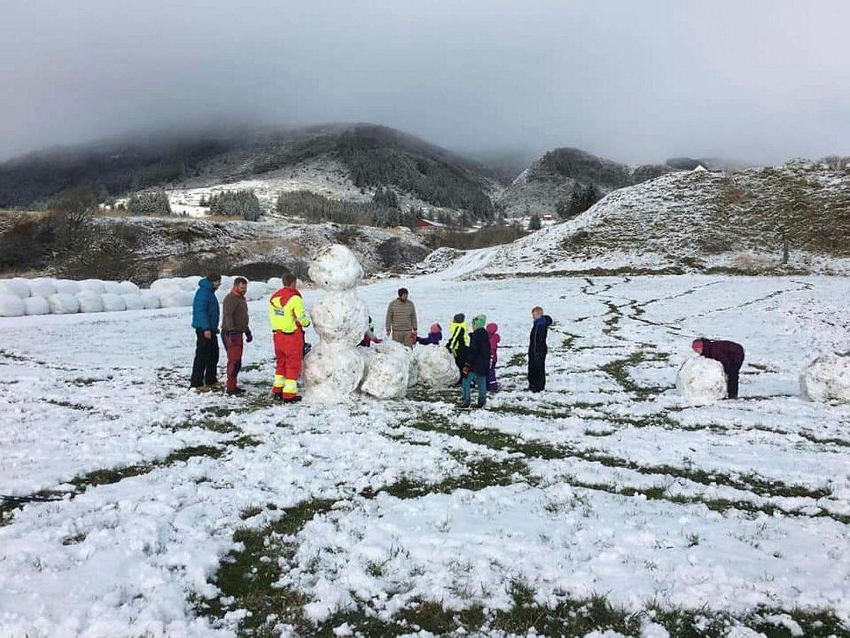 Turrapport- vinterleik på Myresanden