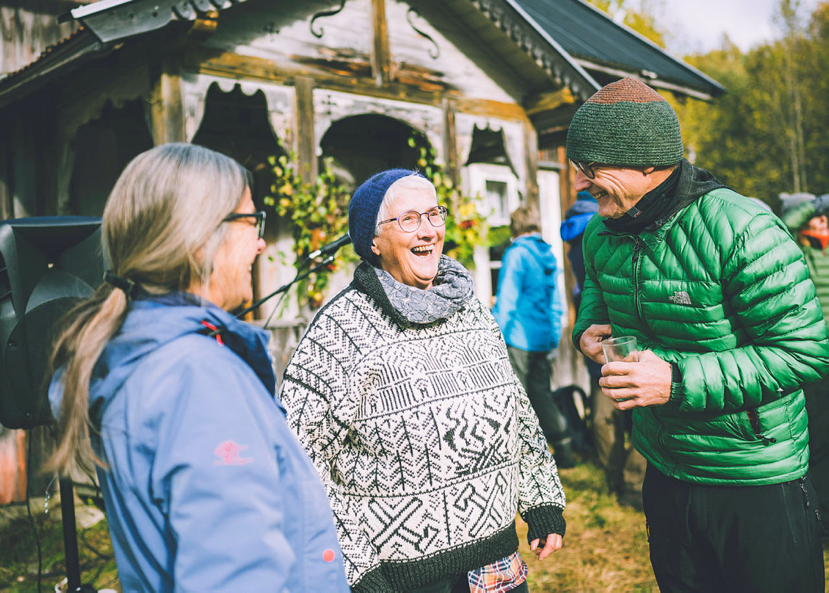 175-årsfeiring av Fortidsminneforeningen på Abborhøgda i Finnskogen.