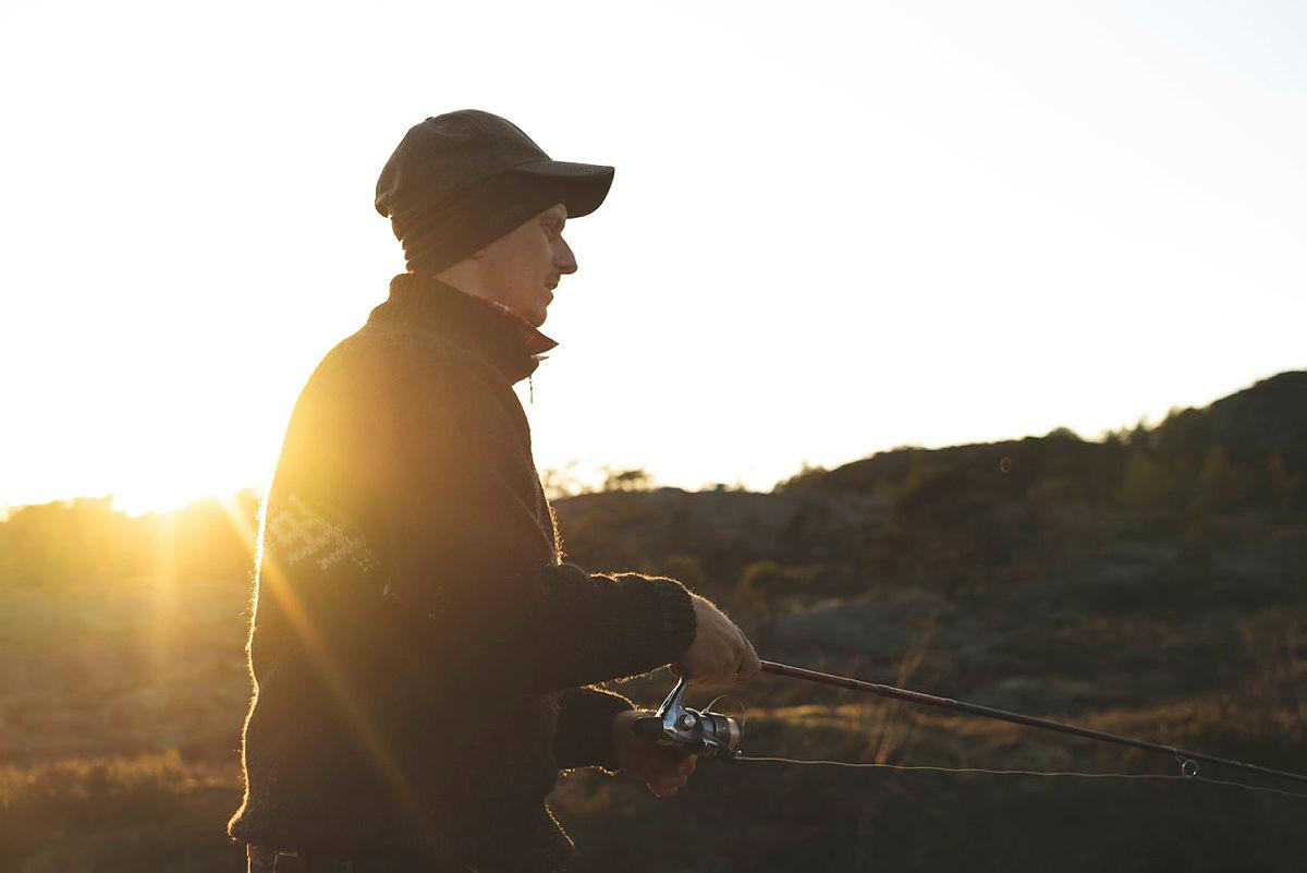 Prøv fiskelykken på turisthyttene i ferien