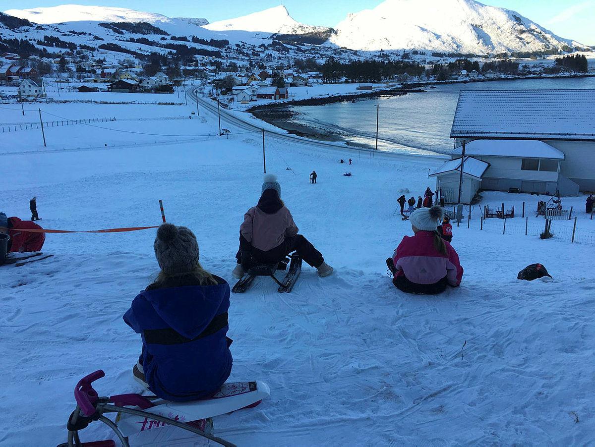 Akedag med Barnas Turlag Stadtlandet 20. januar