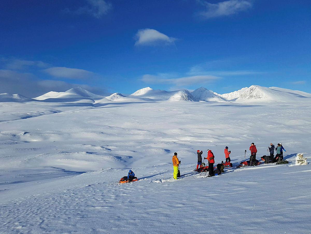 Vintertur i Rondane med topptur på Veslesmeden