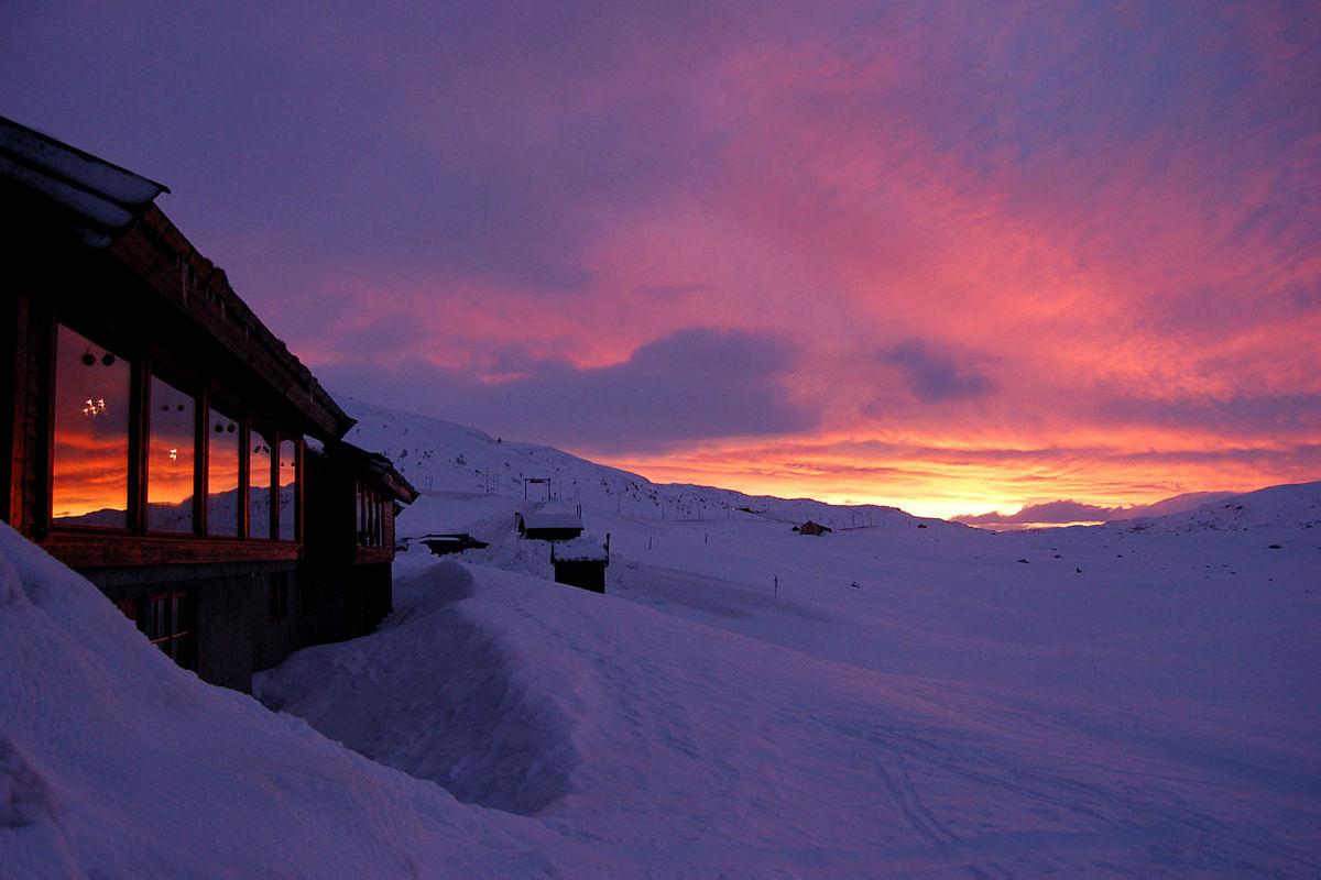 Juletallerken på Haukeliseter fjellstue