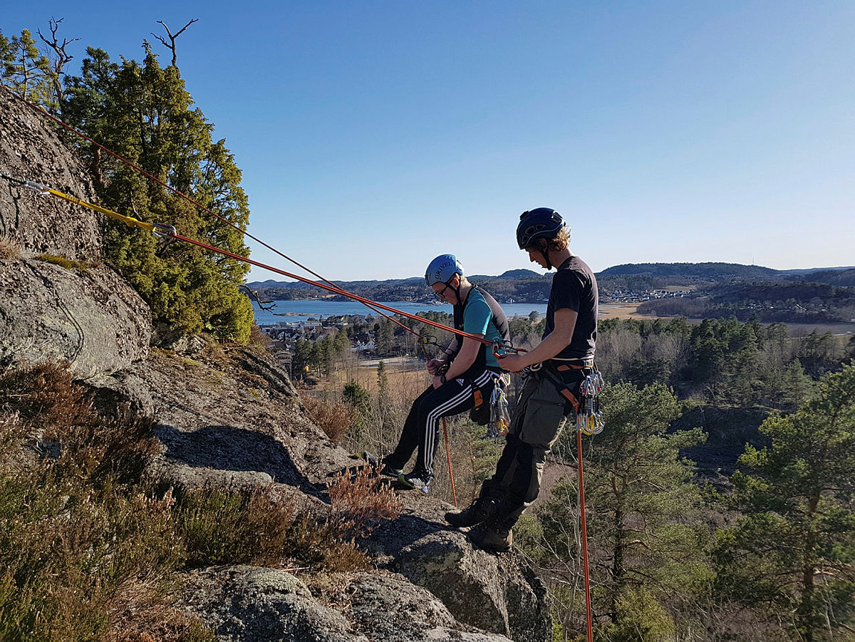 Friluftsliv og aktivitet, et samarbeid mellom Larvik Kommune og LOT