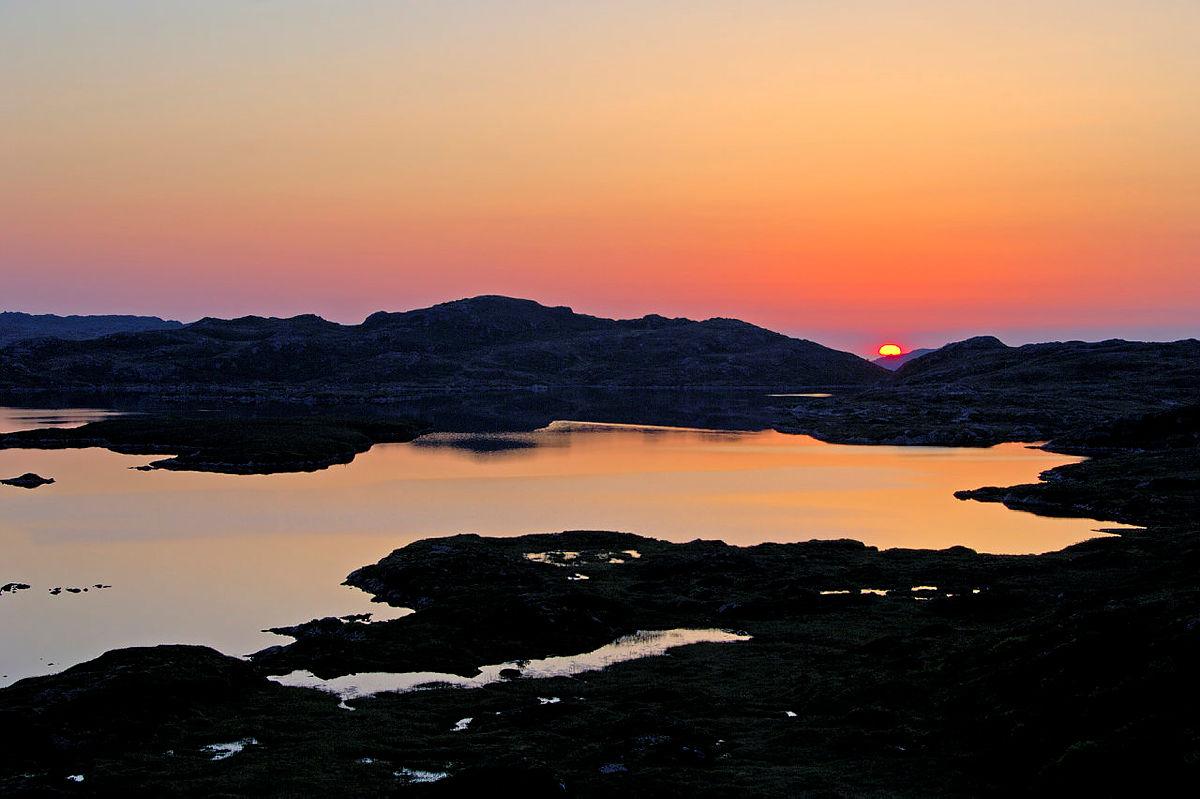 Mosavatnet er hjemmet til mange fugler på Grønafjellet.
