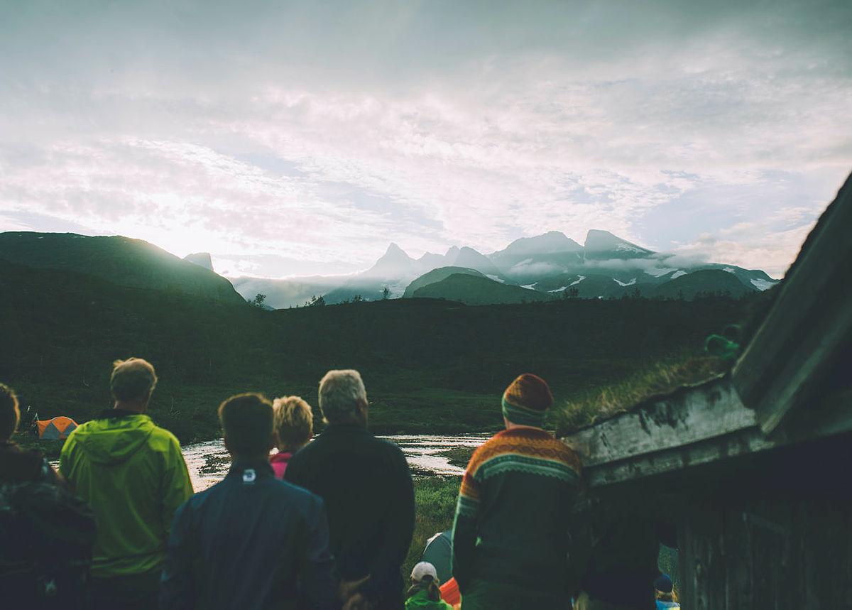 """""""Monsen-effekten"""" har nok gitt økt besøk for flere hytter. Her fra etappen fra Skogadalsbøen til Vetti."""