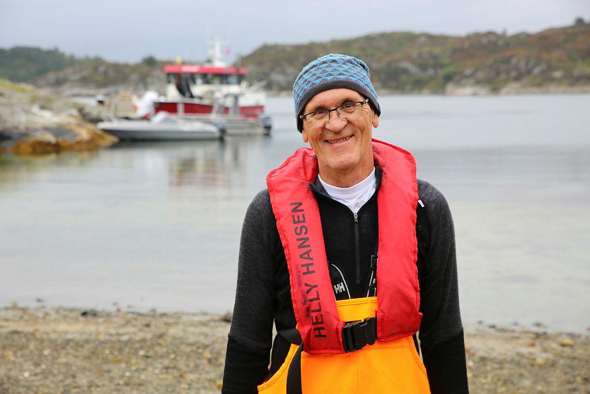 Miljøvernaktivistog styremedlem i Clean Shores Norway, Rune Gaasø.