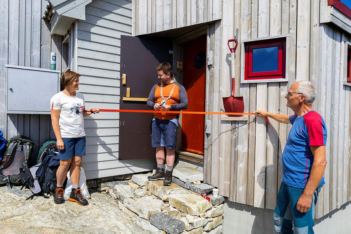 Åpning av Storstova på Fonnabu, søndag 27. juni 2021.