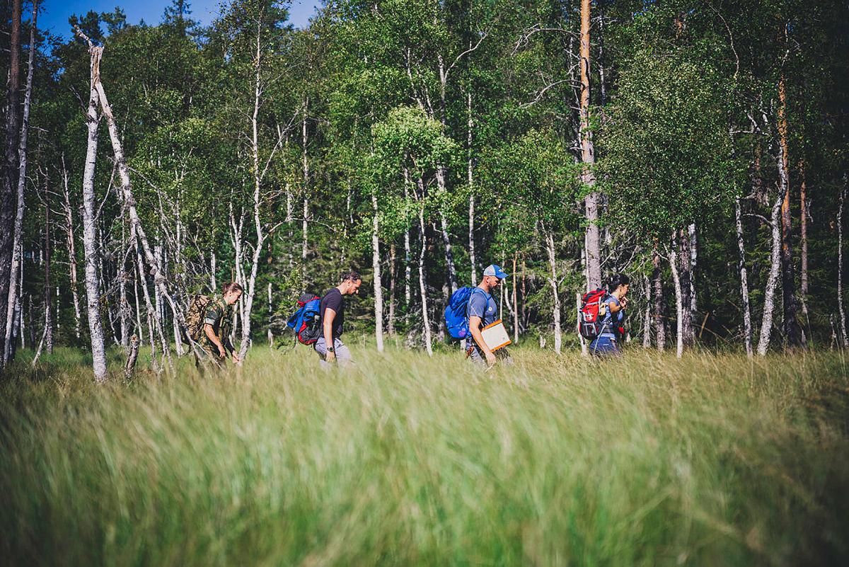 Flyktningruta med HKH Kronprins Haakon august 2020.