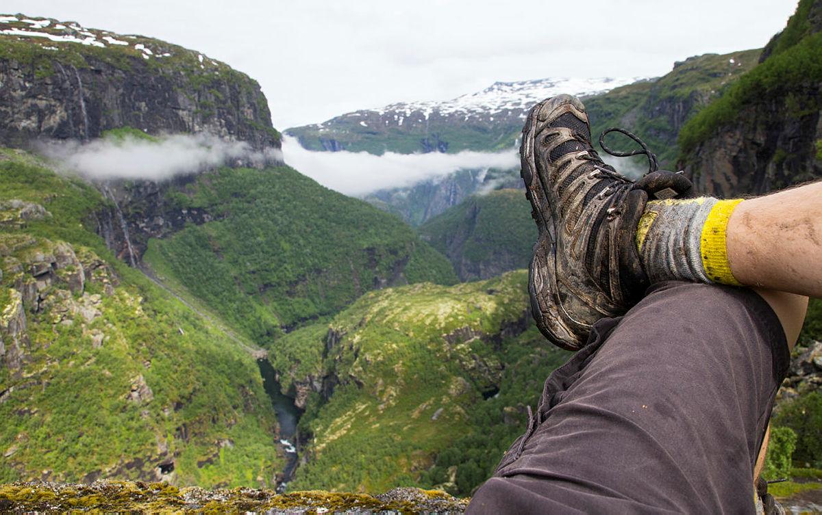 Utsikt over Aurlandsdalen.