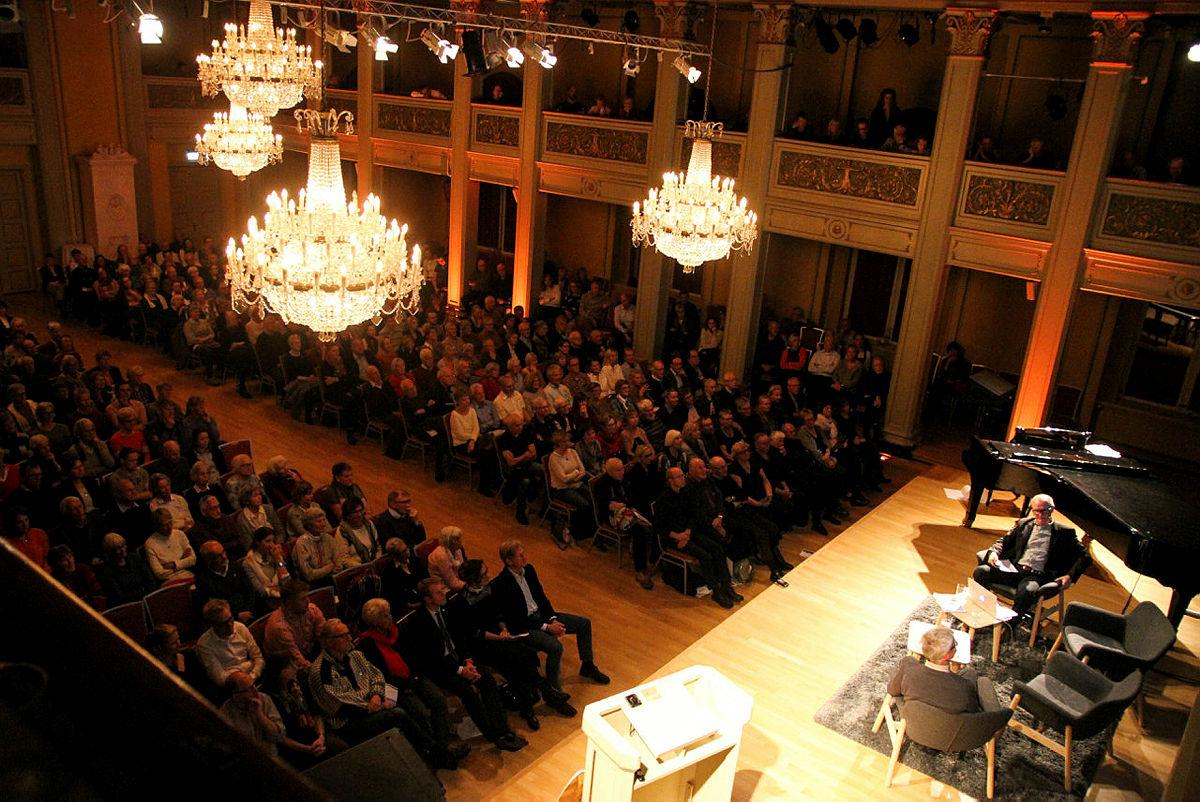 Fra Høstmøtet i 2017 i Gamle Logen.