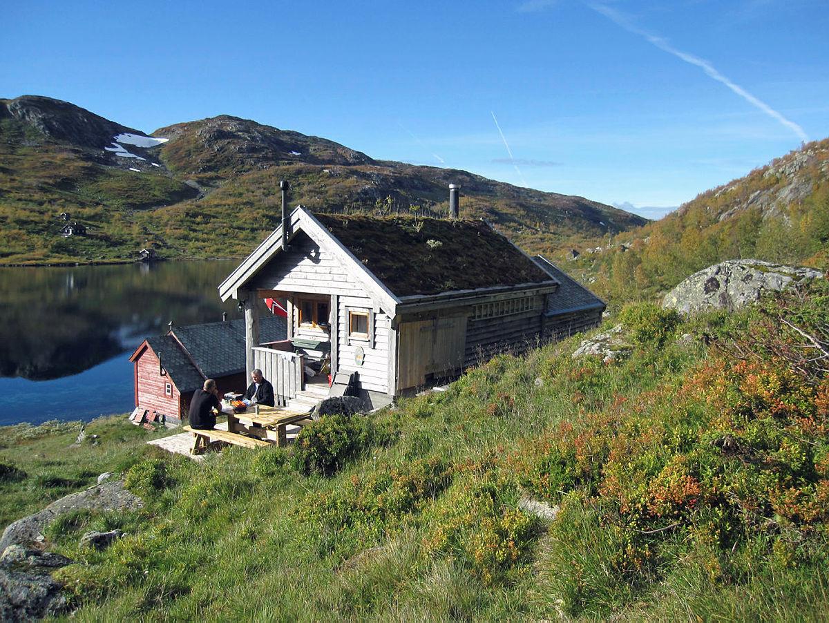 BT-hytten på Vesete, Mjølfjell.