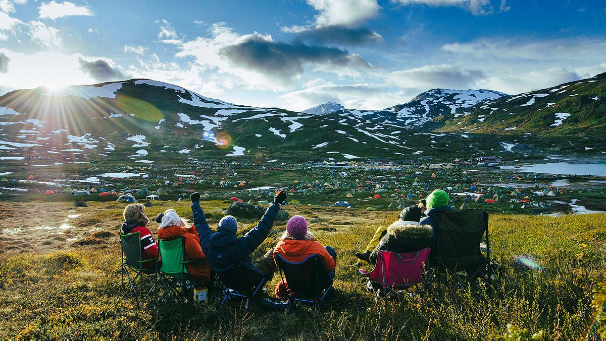 I juli arrangeres festivalen Vinjerock på Eidsbugarden i Jotunheimen.