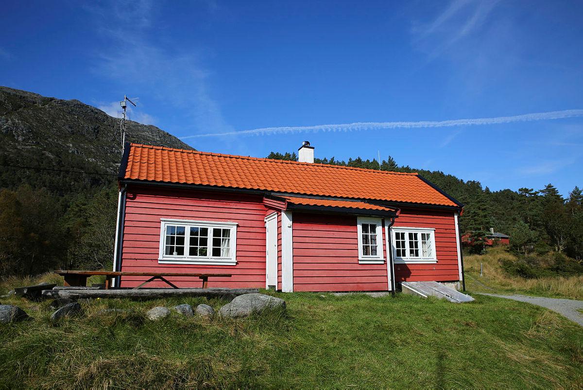Lundarstøl på Stord, 2017.