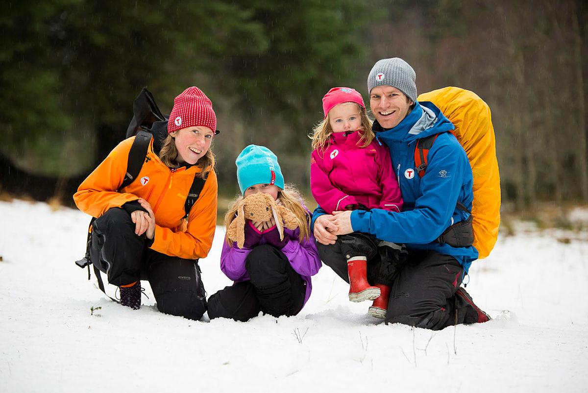 Familien Kalstø/Amundsen i Bergen har knekt koden for korleis dei skal koma seg ut mest mogeleg òg i 2017.