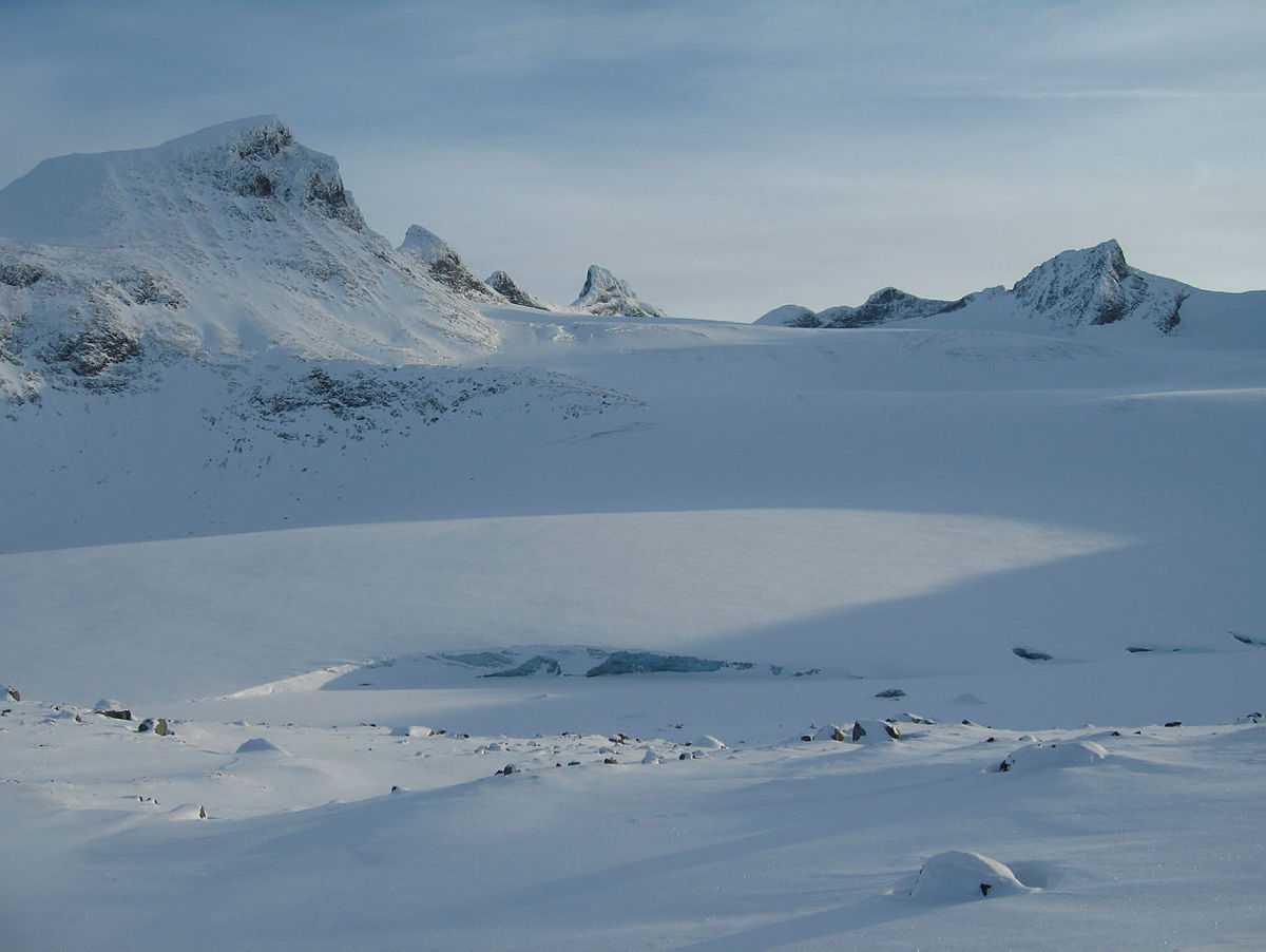 Bilde avTatt på fottur mot Store Smørstabbtinden i November 2010.  Fotokonkurranse vinter 2011