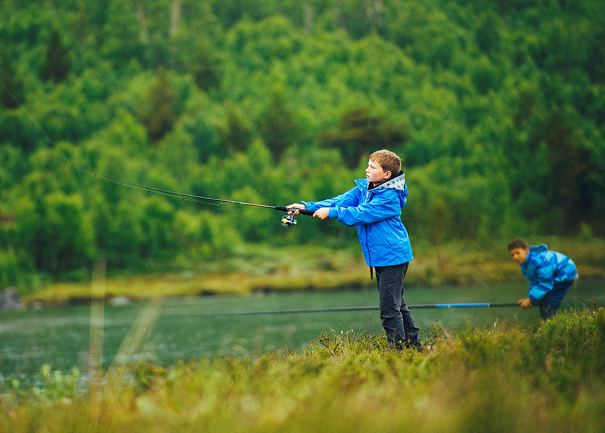 Om man fisker, kan man få fisk!