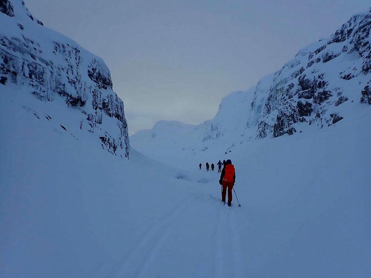 DNT Fjellsport Bergen skredfast på Kaldavasshytta