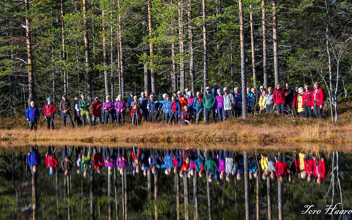 Turgruppa Ut på tur Eiker på Snaukollen