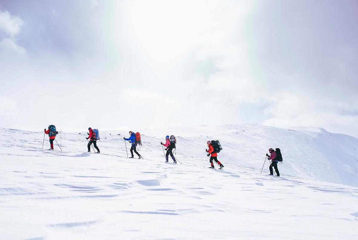 Skitur i måneskin, til en topp eller gjennom Tafjordfjella?