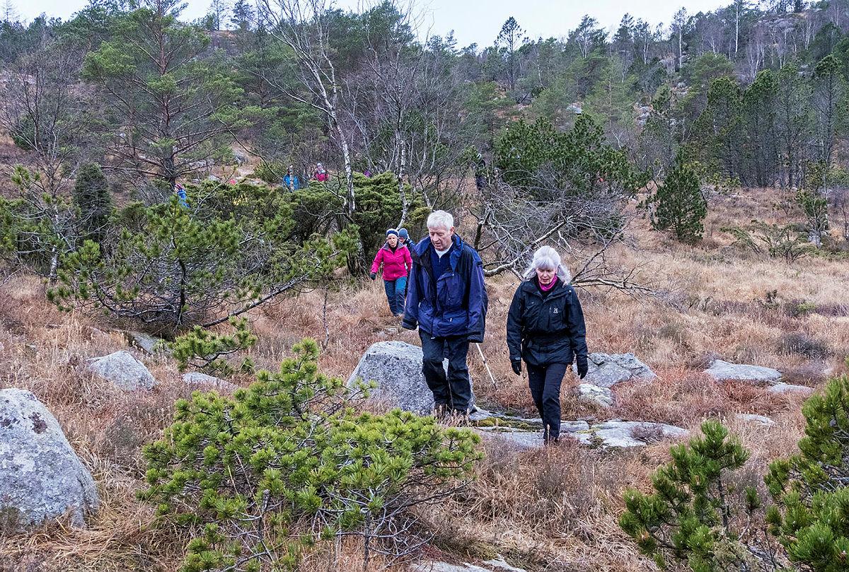Turkafe på Gramstad. Tur til Kollirudla.