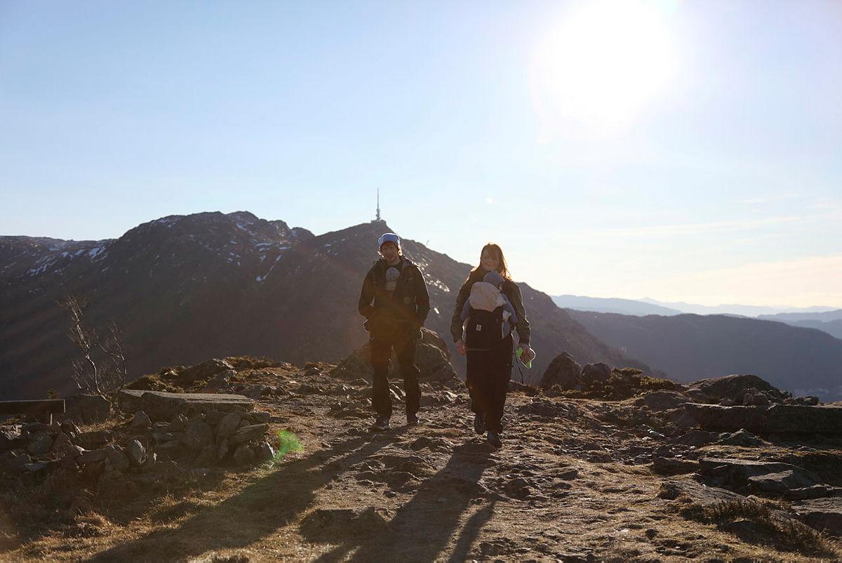 Bæretur til  Fjellhytten februar 2017