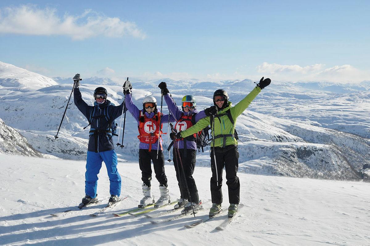 Skidag i Eikdalen med DNT ung Bergen